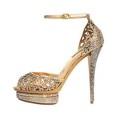 Wowsers!!! Vintage wedding shoe - I'd walk around in these babies all day and all night!