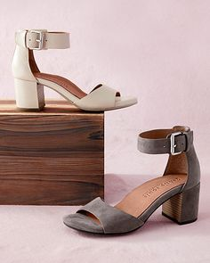 4de2324dee24 Gentle Souls Christa Heeled Shoes