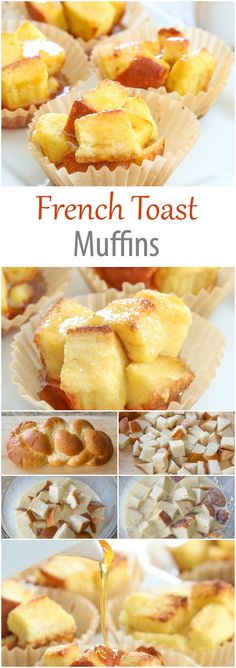 French Toast Pull Apart Muffins. These make an easy and fun brunch dish!