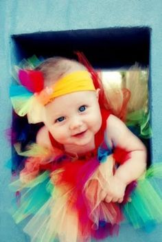 If I ever have a girl tutus and big bows better still be in style :)  Cause she'll wear it anyway.