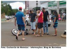 BLOG DO MARKINHOS: Um motociclista ficou ferido e outro fugiu do loca...