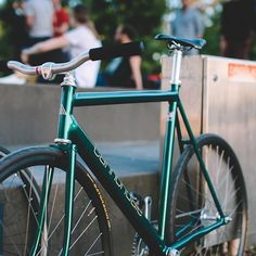 @erik.son's cannondale before he sold it, super clean. #cannondaletrack #fixedgear #fxdgrmlbrn