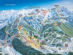 Vail trail map Wanna go back already Love these