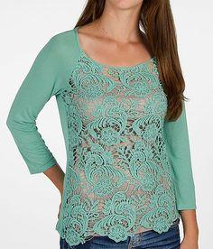 Daytrip Pieced Crochet Top  $27  www.buckle.com