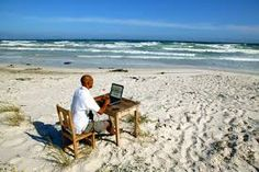 Your #office as an exotic place - can you imagine it? #Monday #Lifestyle #Design #Beach #MondayMotivation
