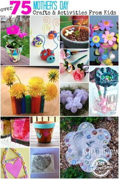 Mother's Day is just around the corner, but don't worry-- it's not too late to make something for Mom! We here at Kids Activities Blog have come up with s Activity Share, Family Activities (all ages), Kids Activities (by Age), Mother's Day