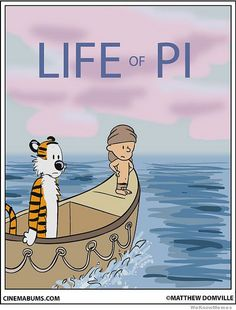 Life Of Pi: Calvin And Hobbes Edition