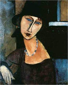 Modigliani - Jeanne au collier