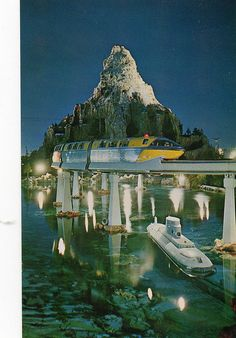 Matterhorn, submarines on a postcard