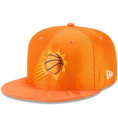 Men's Phoenix Suns New Era Orange NBA On-Court Original Fit 9FIFTY Adjustable Hat