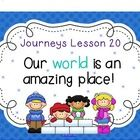 Here are 60 interactive Smart Board slides to cover a full week of Journeys Lesson 20, grade 3! It is aligned with the Common Core! I hope you have...