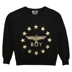 HBX is a global online retail destination for men's and women's clothing and style. Shop from over 300 of the world's leading streetwear and contemporary brands. London Logo, Boy London, Fashion Wear, Mens Fashion, Black Joggers, White Boys, Black Cotton, Hooded Sweatshirts, Street Wear