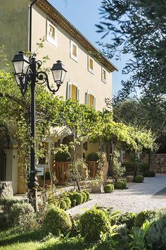 La Bastide Saint-Antoine. Restaurant of a Grand Chef Relais  Châteaux and hotel in the country. France, Grasse. #relaischateaux #bastide #grasse