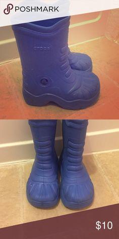 Crocs boots Super cute rubber Crocs boots in size 8-9 CROCS Shoes Boots