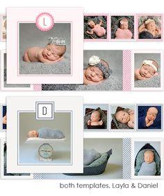 Daniel and Layla Baby 3x3 Accordion Mini