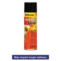 Bed Bug Spray, 14 Oz Aerosol, For Bed Bugs/dust Mites/lice/moths, 12/carton > Eliminates bed bugs and eggs. Effective for dust mites, lice and moths. Long-lasting formula. Check more at http://farmgardensuperstore.com/product/bed-bug-spray-14-oz-aerosol-for-bed-bugsdust-miteslicemoths-12carton/