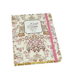 Buttercream™ Elizabeth Collection Journal-Pink/Gold