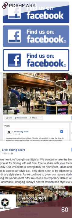 Add Us On Facebook Welcome new LiveYoungStore Stylists. We wanted to take the time to thank you all for Styling with us! Feel free to share with your friends and family. Our LYS team is aiming daily for new styles, ideas and designs to add to our Style List. This store is not to be taken for just any ordinary style store. As we continue to grow, our team is dedicated to finding the world's most nifty luxurious contemporary fashion at the MOST affordable. Bringing Today's hottest fashion and…