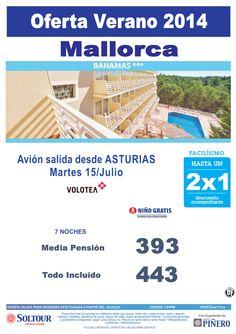 Mallorca - Hasta 2x1 Hotel Bahamas, salida 15 Julio desde Asturias ultimo minuto - http://zocotours.com/mallorca-hasta-2x1-hotel-bahamas-salida-15-julio-desde-asturias-ultimo-minuto/
