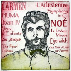Georges Bizet, French 19th Century composer famous for the opera Carmen, which incidentally has a fantastic score.