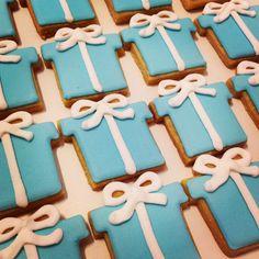 Tiffany Cookies by Petit Four Brasil.