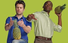 Psych Pineapple // list of all the pineapples in each episode (list made by viewers so 100% accuracy is not guaranteed but still a great site!!)