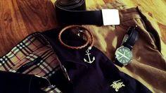 #burberryshirt #ArmaniExhaustwatch #Pullin trouser