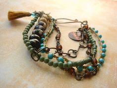 boho-chic jewelry - Cerca con Google