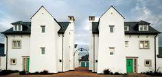 Poundbury houses at St John's Way by Francis Roberts Architects. Photo: Miguel Santa Clara