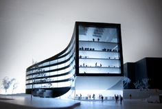 Office and shop complex proposal by JAJA