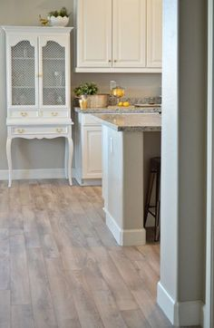She got her flooring from Lumber Liquidators - Delaware Bay Driftwood and right now it's 1.49 sqft New Floor Reveal! - Better After