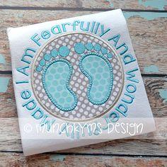 Fearfully & Wonderfully Made - Baby Feet
