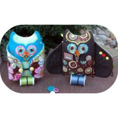 In The Hoop :: Sewing  Craft Accessories :: Owl Sewing Kit - Embroidery Garden In the Hoop Machine Embroidery Designs