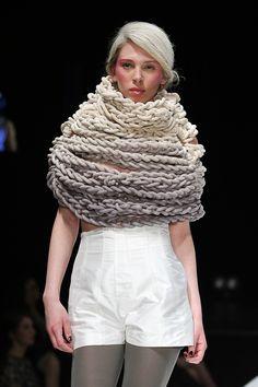Maxi Cables #knit #cowl