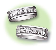 """ring I exchanged with my husband at our vow renewal (translation """"my soul mate"""")"""