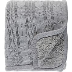 Surya Tucker Silver Gray Throw Blanket (1,310 MXN) ❤ liked on Polyvore featuring home, bed & bath, bedding, blankets, gray bedding, grey bedding, plush throw blanket, plush blanket throw and textured bedding