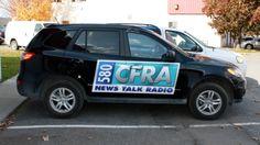 Ottawa Car Decals - CFRA