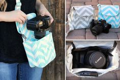 Camera Bag ~ Perfect size for a small DSLR, or point and shoot