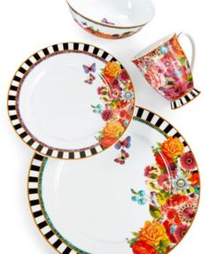 Lenox Dinnerware, Melli Mello Eliza Stripe Collection, Only at Macy's - Dinnerware - Dining & Entertaining - Macy's