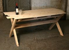 wooden table handmade - Google Search