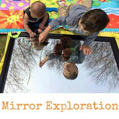 In fact, mirrors are a staple in the Reggio approach as they encourage exploration and provide another point of view and depth of understanding. They are a unique added element to play and also support the child's self-image in the play environment.