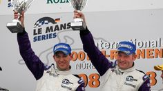 Winner Le Mans Series LMP 2 Nurburgring ( Jos Verstappen - Jeroen Bleekemolen) team director Gerard Grouve