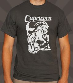 4ef4bc65 6dollarshirts Capricorn T-Shirt Male Small Wise little goats the Capricorns  are, albeit a