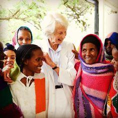 Happy patients at the Addis Ababa Fistula Hospital.