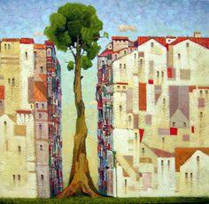 Витаутас Laisonas, 1965 | Магический реализм художник | Tutt'Art @ | Pittura * Scultura * Poesia * Musica |