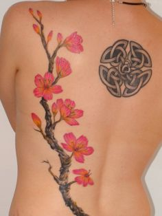 japanese cherry blossom tattoo szukaj w google takie tam pinterest trees cherries and. Black Bedroom Furniture Sets. Home Design Ideas