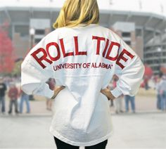 Alabama spirit jersey <3
