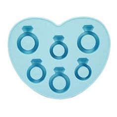 Ice Cube Tray for Engagement Party