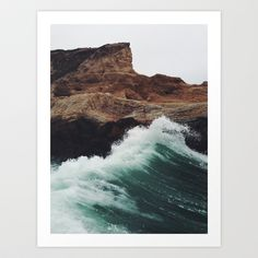Buy Montaña Wave by Kevin Russ as a high quality Art Print. Worldwide shipping available at Society6.com. Just one of millions of products available.