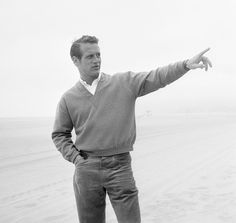 "Paul Newman, 1957 ""I had no natural gift to be anything - not an athlete, not an actor, not a writer, not a director, a painter of garden porches - not anything. So I've worked really hard, because nothing ever came easily to me."""